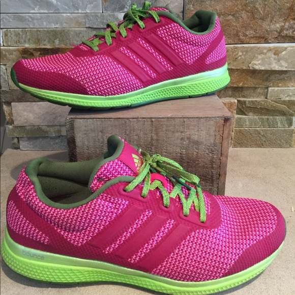 adidas bounce women's pink